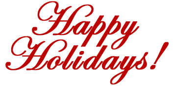 Happy holidays png red. Graphics clipart commenti free