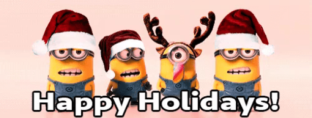 Happy holidays png animated. Don t feel bad