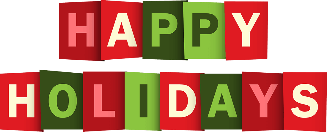 Happy holidays png animated. Text pmo advisory happyholidaystextpng