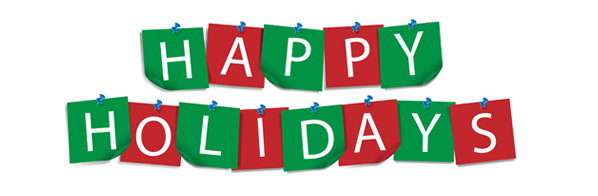 Happy holidays png green. Transparent images pluspng banner