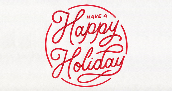 Happy holidays png pink. Have a holiday logo