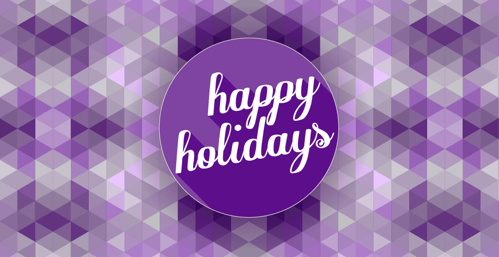 Happy holidays png purple. Nucerity corporate office holiday