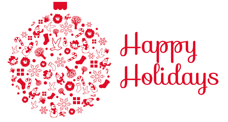 Happy holidays png red. Transparent pictures free icons