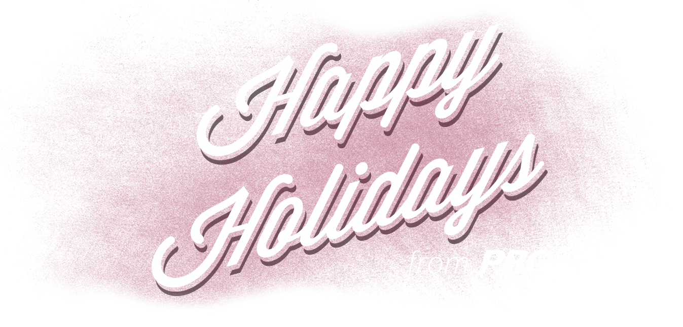 Happy holidays png transparent. From prg