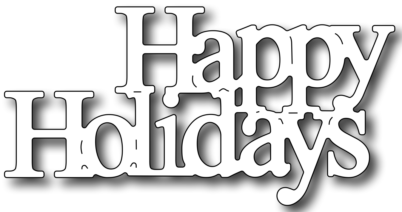 Happy holidays png white. Images in collection page
