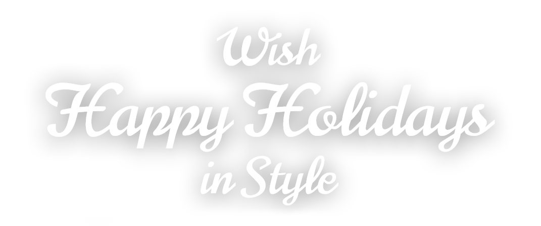 Happy holidays white png. Issue remindermedia wish in