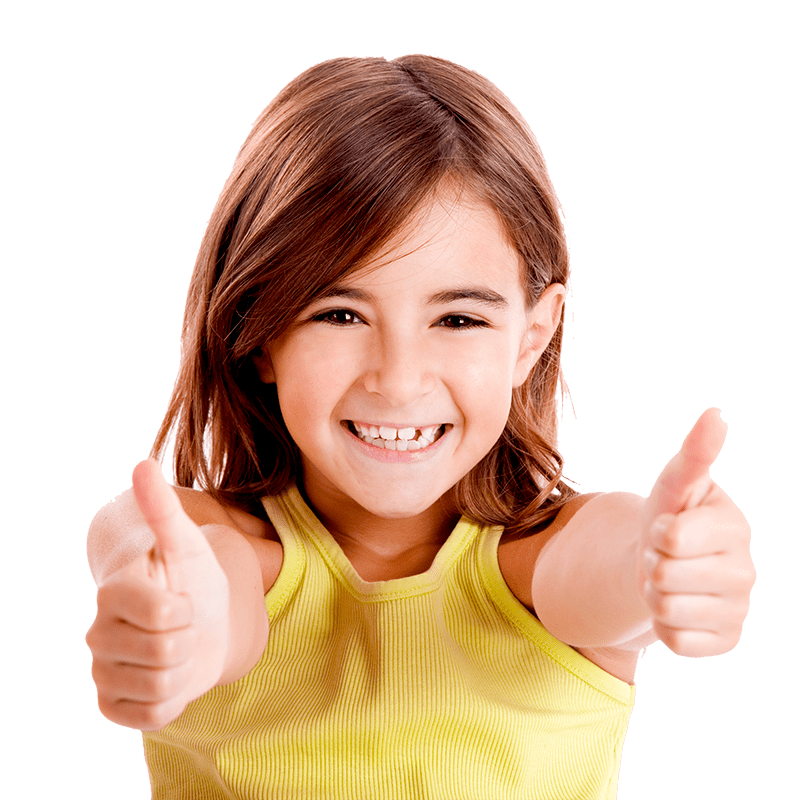 thumbs up kid png