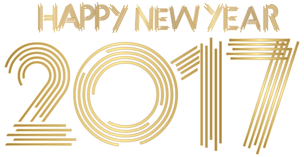 Transparent stickpng download holidays. Happy new year gold png clip art royalty free library