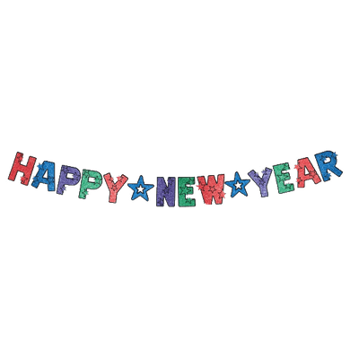 Happy new year banner png. Transparent images page stickpng