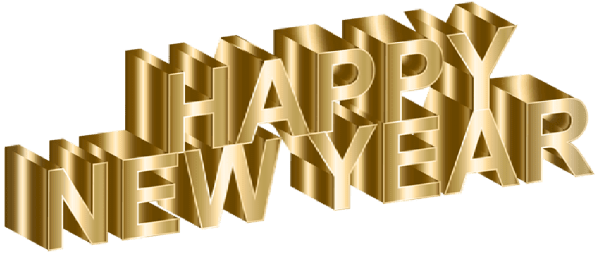 Free images toppng transparent. Happy new year gold png svg black and white stock