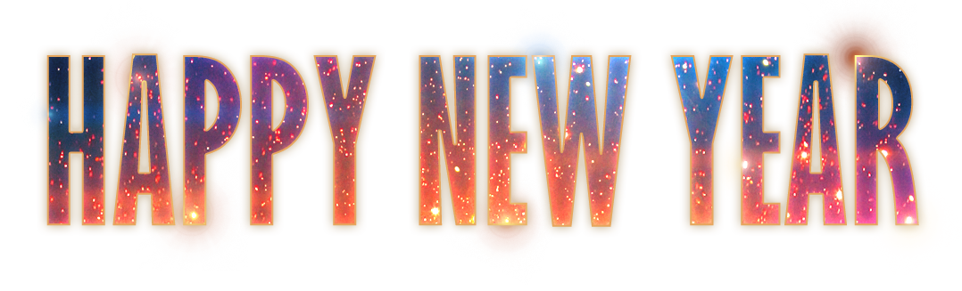 Happy new year logo png. Overkill software