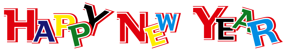 Happy new year png image. Transparent images all download