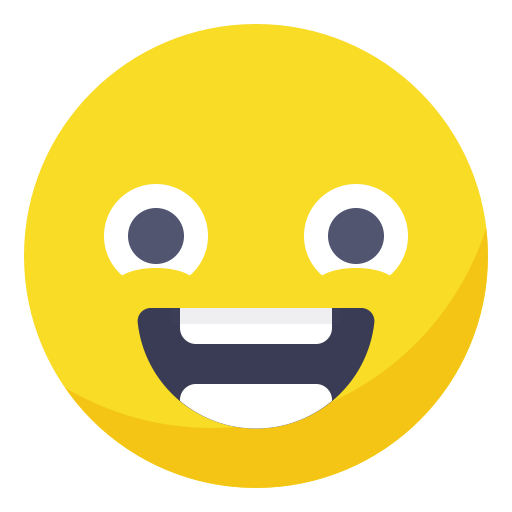 Happy smiley png. Face smile positive excited