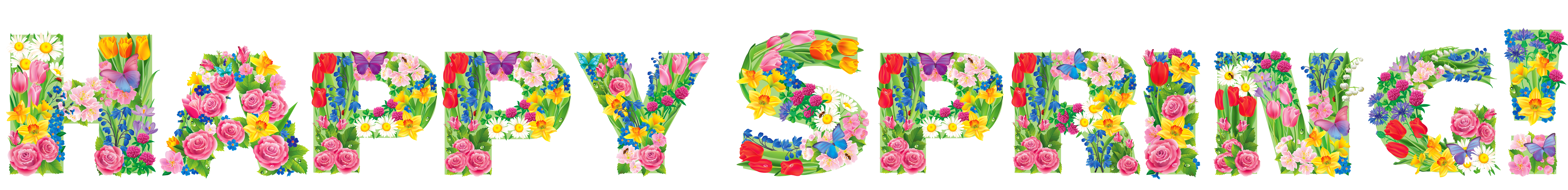 Happy spring png. Transparent clipart picture gallery