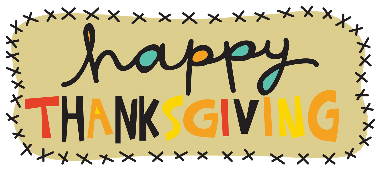 Happy thanksgiving clipart free facebook. Png stock for cover