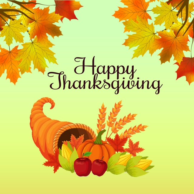 Happy thanksgiving png psd. And file for free