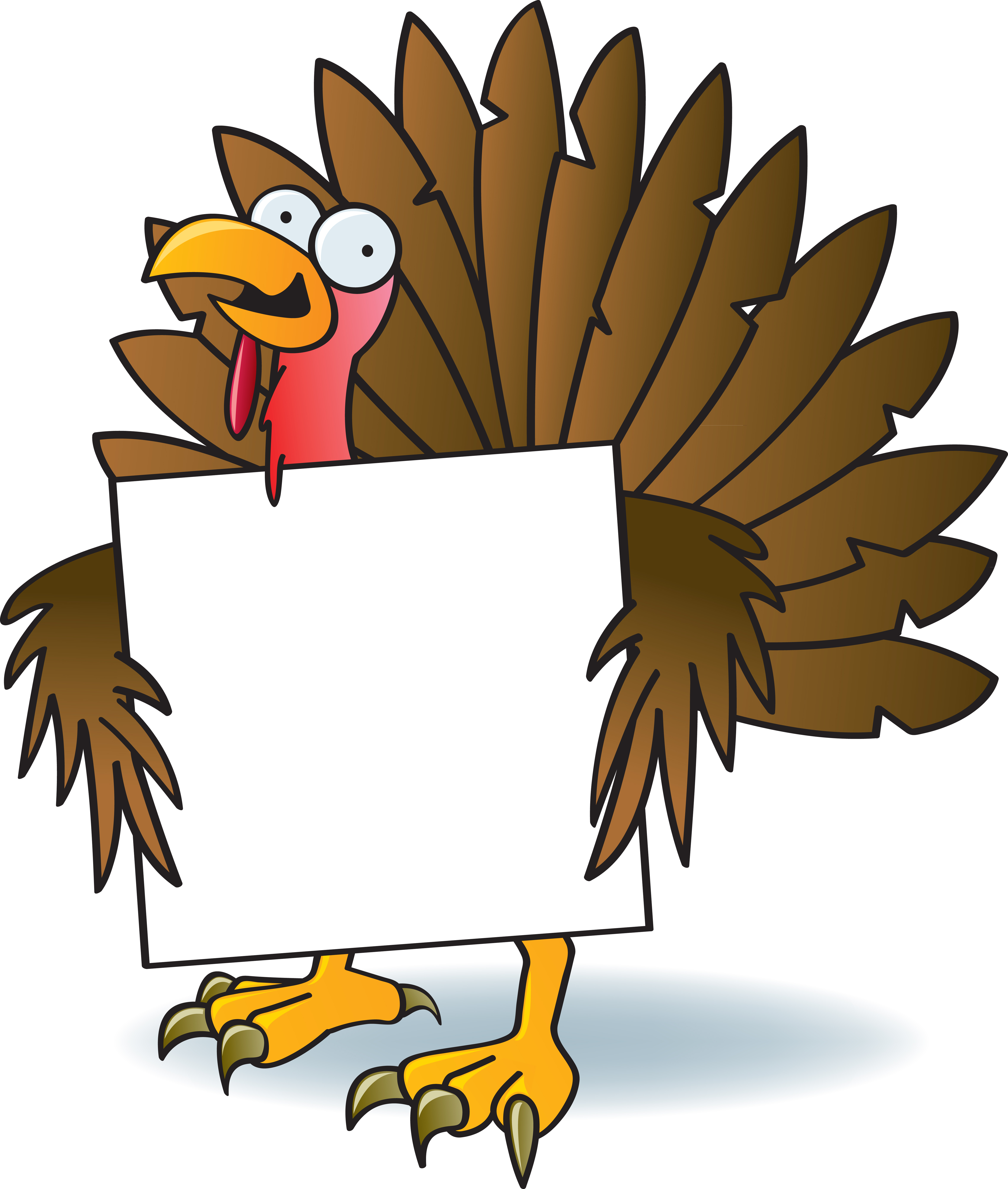 Happy thanksgiving png turkey. Free cartoon pictures download