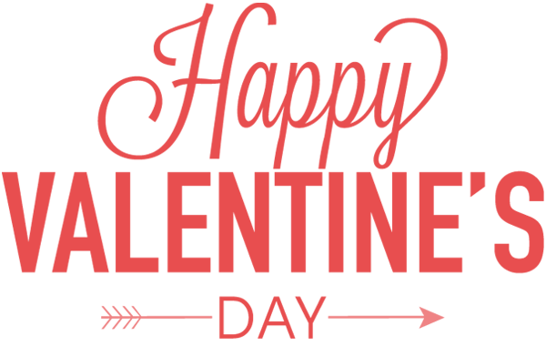 Happy valentines day text png. Image free download