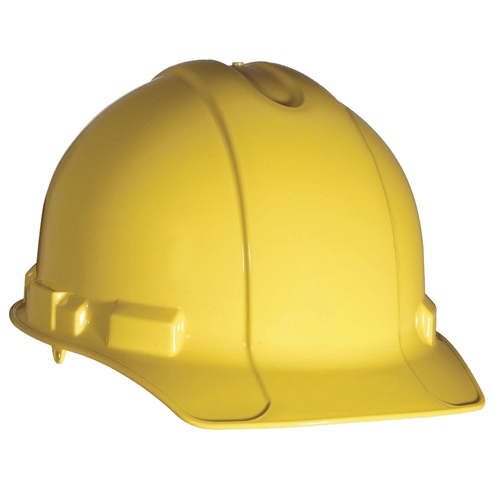 Hard hat png. Yellow head safety newton
