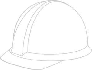 Hard hat drawing at. Hardhat vector black and white download