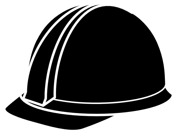 Hardhat vector hard hat. Clip huge freebie