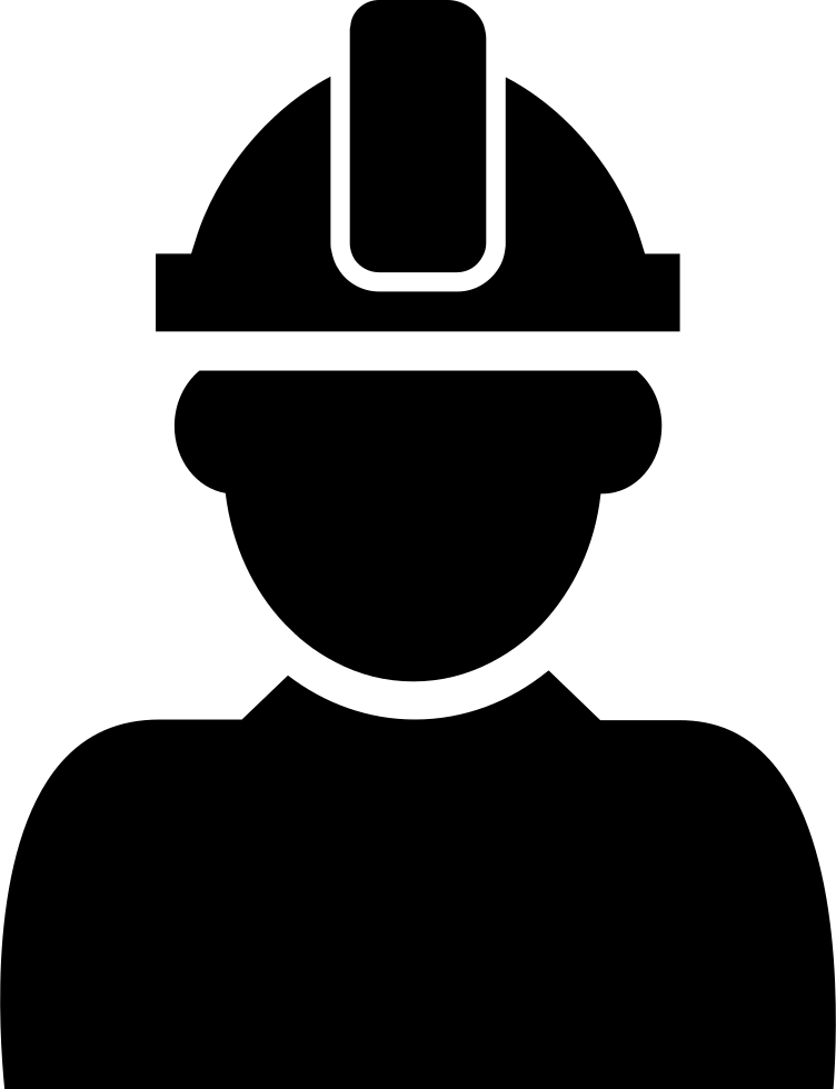 Hardhat vector svg. Constructor with hard hat