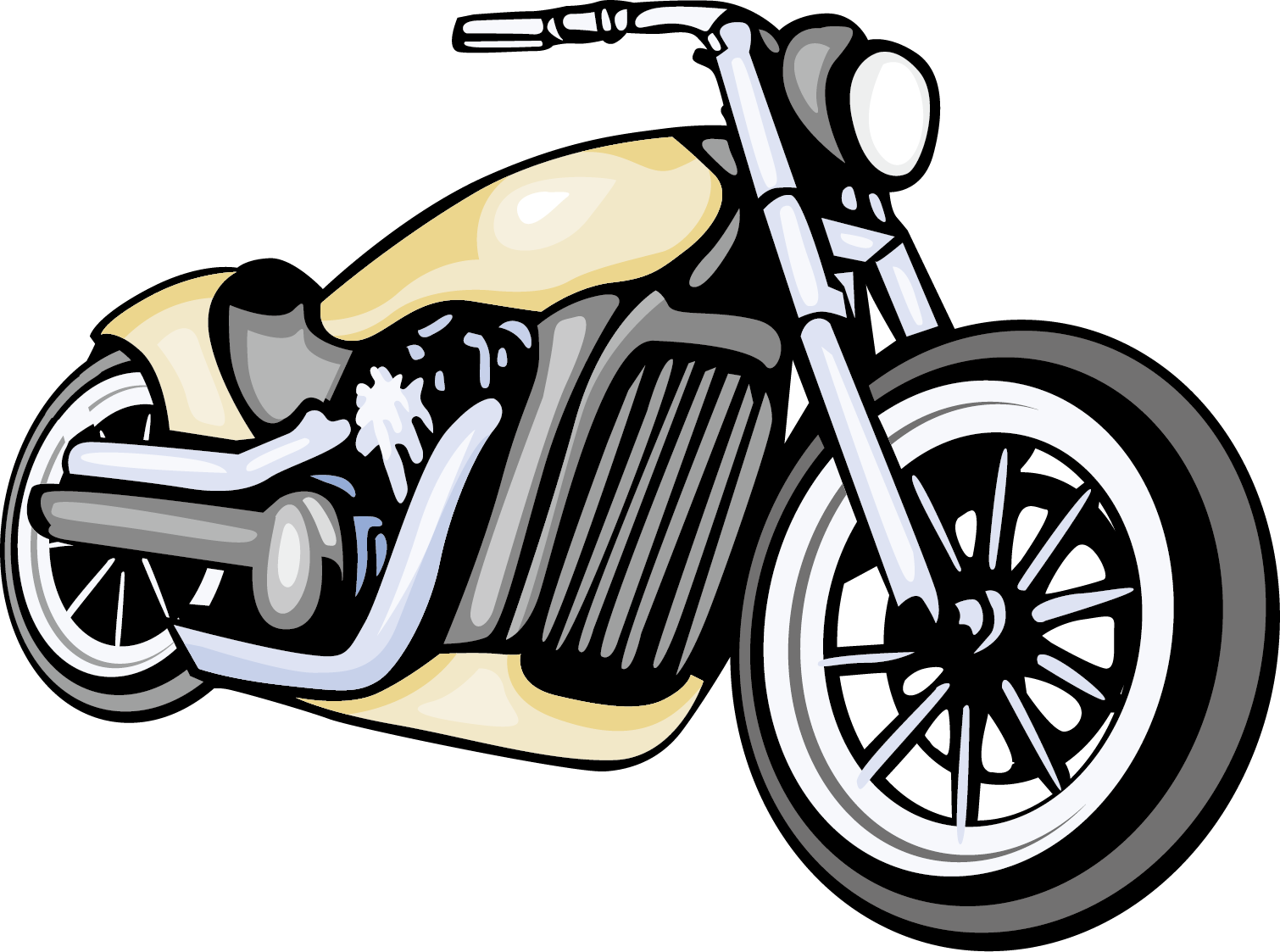 Motorcycle clipart bagger. Harley davidson for free