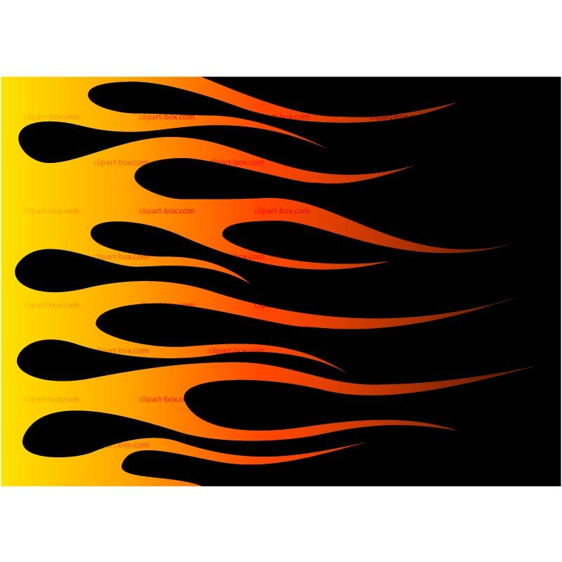 Harley davidson clipart flame. Of flames footwear concept