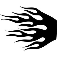 Harley davidson clipart flame. Stencil patterns wildfire basic