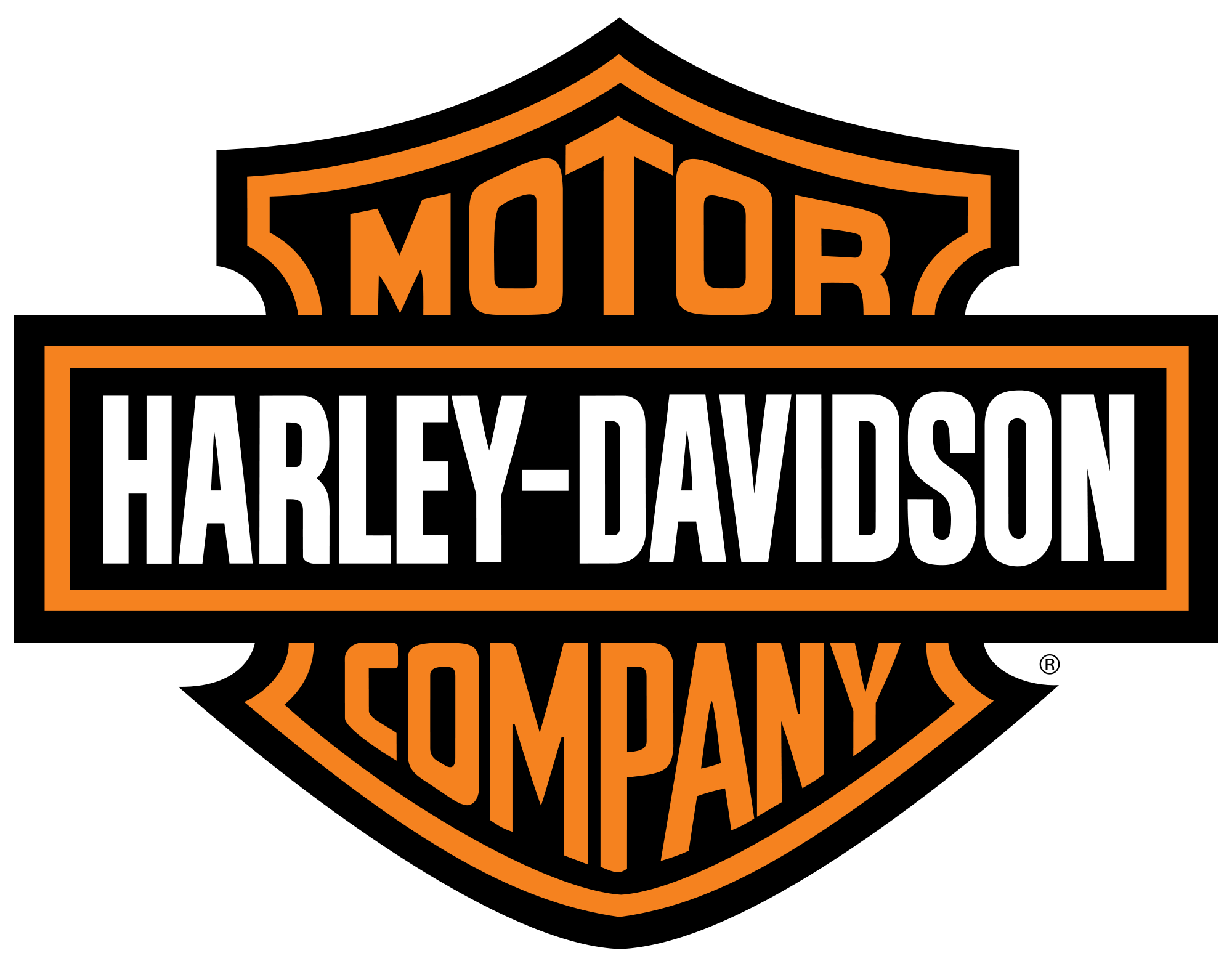 Harley davidson clipart shield. For free download and
