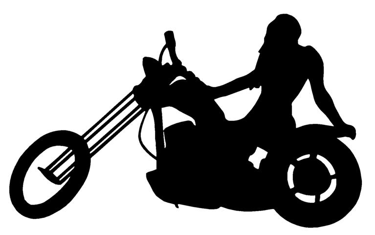 Harley davidson clipart sticker. Silhouette images at getdrawings