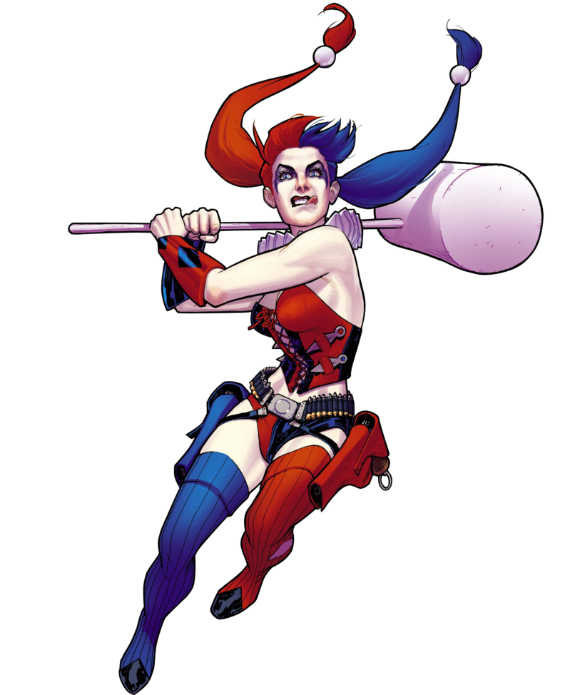 Harley quinn clipart line. Png images free download