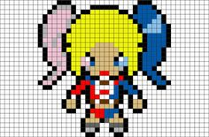 Harley quinn clipart pixel art. Suicide squad pinterest and