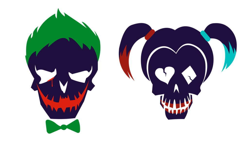 Harley quinn diamonds png. Joker and icons suicide