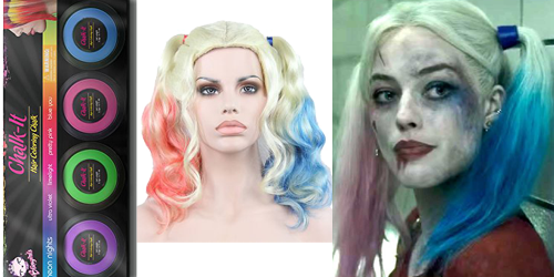 Harley quinn hair png. Costume guide suicide squad