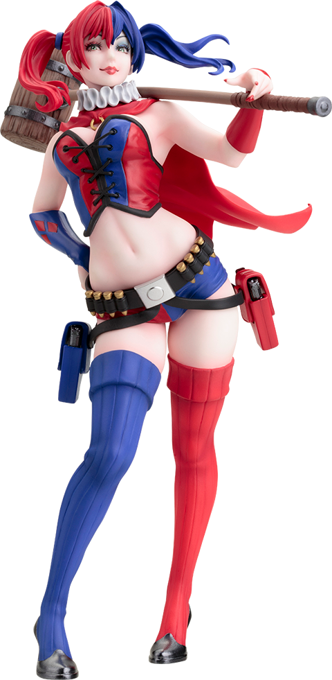 Harley quinn new 52 png. Dc comics statue by