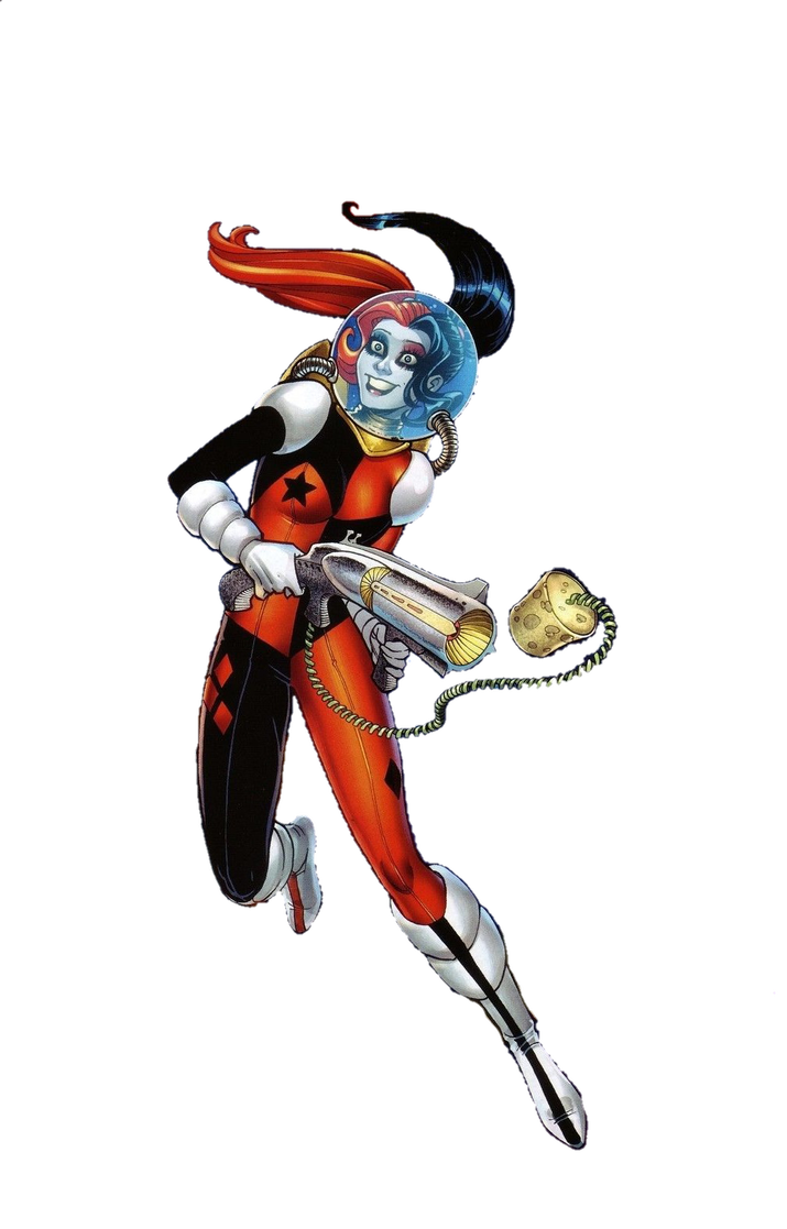 Harley quinn new 52 png. In space by mayantimegod