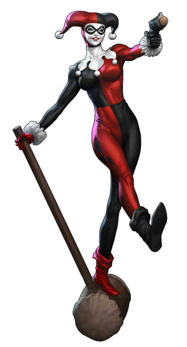 harley quinn new 52 png