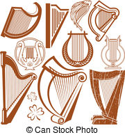 Harp clipart. Clip art and stock clip free library
