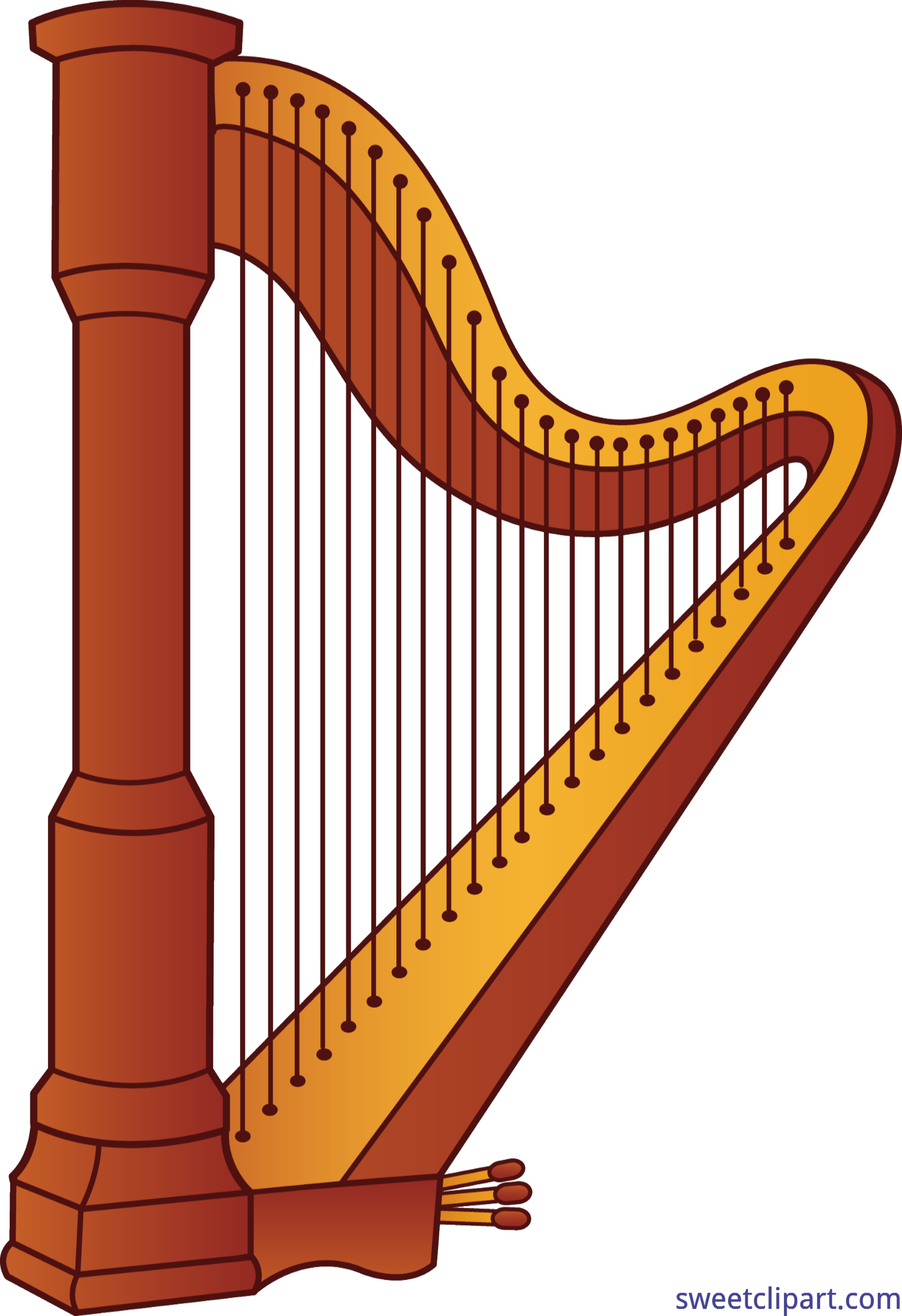 Clip art sweet. Harp clipart clipart library library