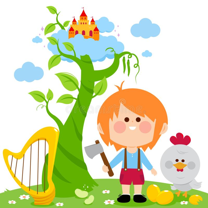 Harp clipart jack and the beanstalk. Magic stock vector illustration svg royalty free download