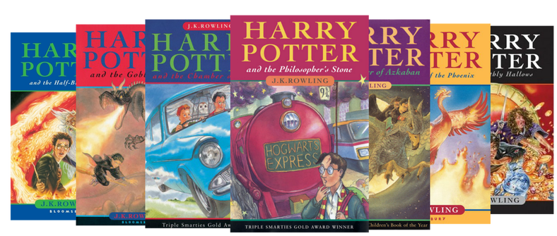 harry potter books png