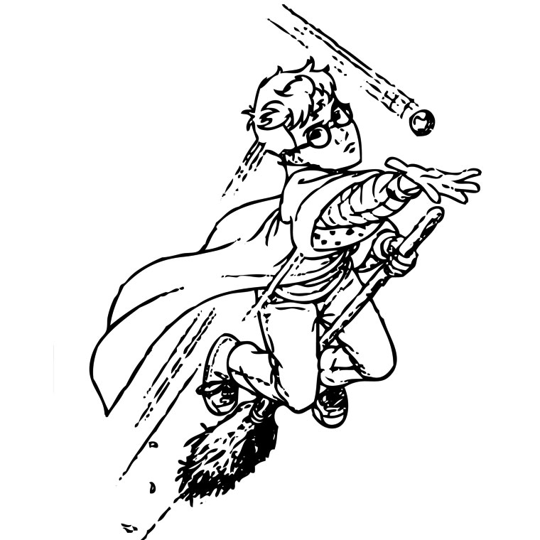 Harry potter clipart broom drawing. On a magic free