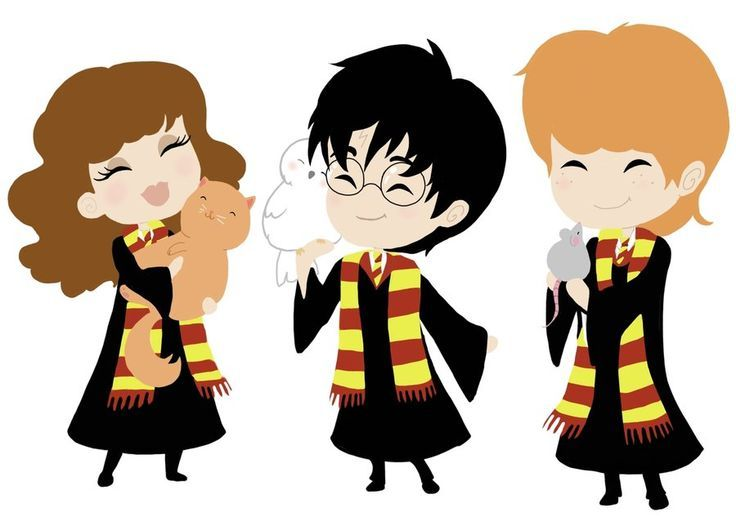Harry potter clipart cartoon simple. Beatrix at getdrawings com