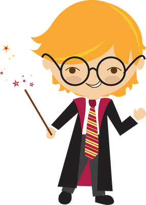 Harry potter clipart collage. Minus toys for toddlers