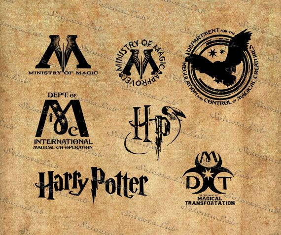 Harry potter clipart collage. Digital image of inspired