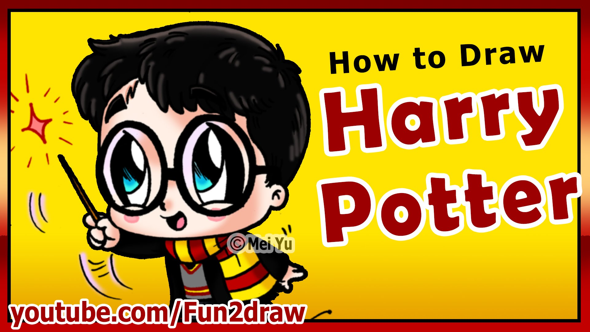Harry potter clipart fun 2 draw. How to super cute