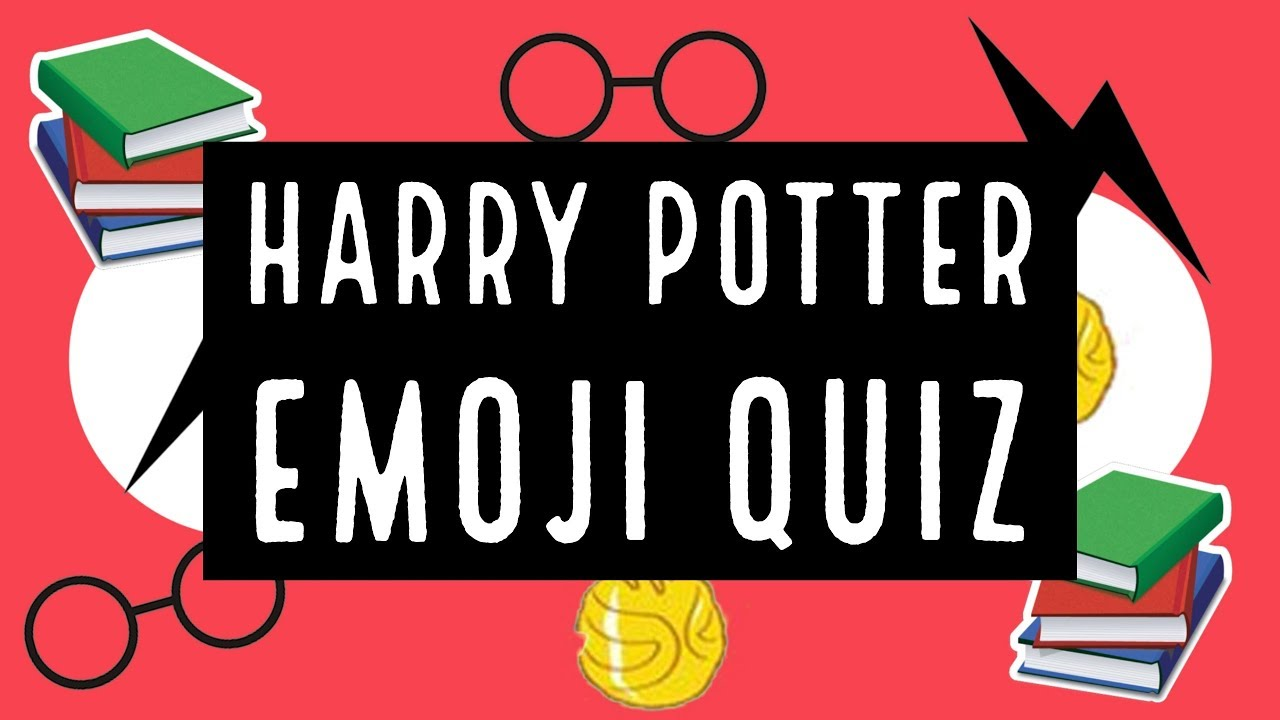 Harry potter clipart trivia. Characters emoji quiz picture