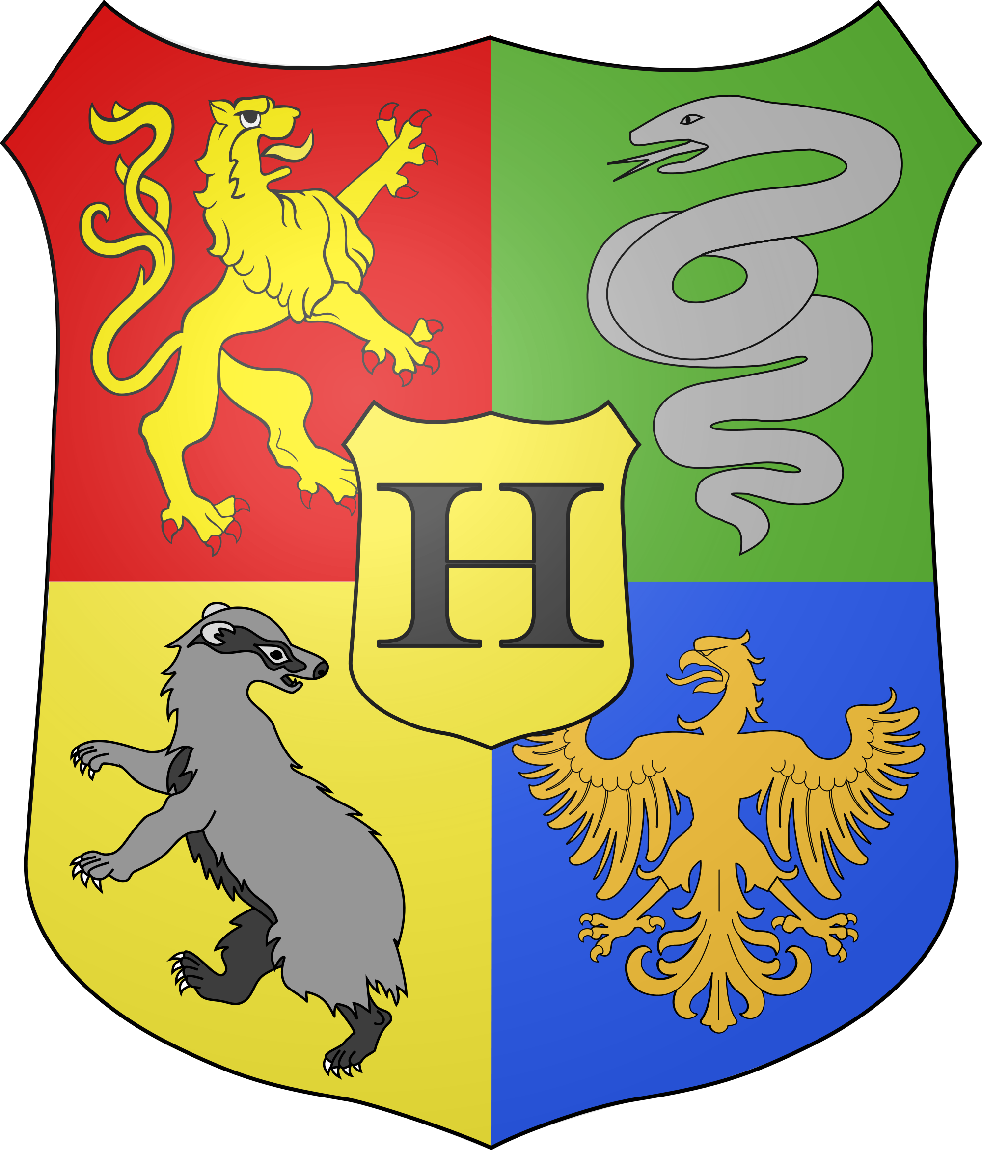 Harry potter crest png. File coat of arms