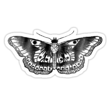 Harry styles butterfly tattoo png. Phone case on the
